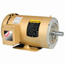 "Baldor Cm3615T Electric Motor 5 Hp 3 Phase 1725 Rpm C-Face 1 1/8"" Shaft Tefc"