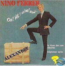 NINO FERRER ALEXANDRE CD SINGLE EP 4T no vinyl éd numérotée 00881