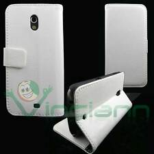 Custodia FLIP LINGUETTA Bianca per Samsung Galaxy Nexus I9250 cover STAND