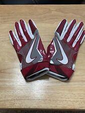 Brand New Nike Oklahoma Sooners Vapor Jet 4 Team Issued Gloves