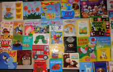 Lot of 20 Baby Boardbooks Unsorted Picture Children's