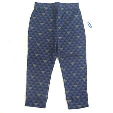 Size 2T - Nwt Old Navy Toddler Girls Blue Triangle Leggings