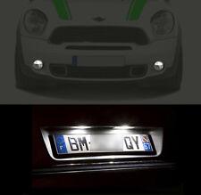 4 lampadine a LED Fari notte + Luci di Targa Bianco Mini Cooper R55 R56 R57