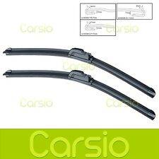 "Volvo S40 1995 - 2003 Aero Flat Windscreen Wiper Blades (Pair) 20""/21"""
