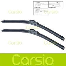 "Lexus IS 350 2013 Onwards Aero Flat Windscreen Wiper Blades (Pair) 18""24"""