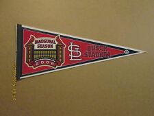 MLB Cardinals BUSCH STADIUM 2006 Inaugural Logo Pennant