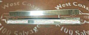 74 - 80 FORD F100 PARTS POLISHED STAINLESS DOOR SILL OUTER SCUFF PLATES NEW