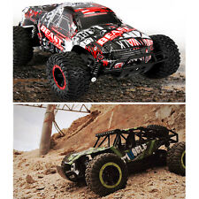 1/16 Scale 2.4Ghz 4 Wheel Drive Rock Crawler Off-road Remote Control RC Car Toy