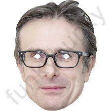 Robert Peston Political Interviewer Card Mask - All Our Masks Are Pre-Cut!  ***