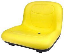 "John Deere Yellow Seat 15.50"" Tall Fits GT225 GT235 GT245 GT255 GT325 #AQ"