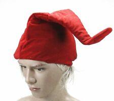 Zwergenmütze - rot Wichtelmütze Elfenmütze Zipfelmütze