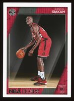 2016-17 Panini NBA Hoops Pascal Siakam #283 Rookie RC Toronto Raptors Basketball