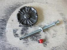 flower plaque / replacement door knocker striking plate