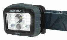 Browning Night Gig Elite Headlamp Blue And Gray Adjustable Nylon Headband.
