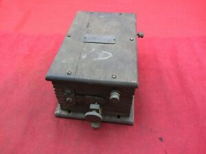 NATIONAL COIL Co TYPE W IGNITION BUZZ COIL BOX SYSTEM EARLY FORD MODEL T?