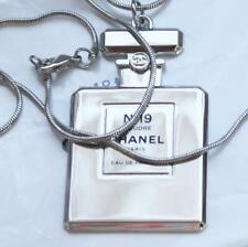 RARE CHANEL Silver XL Necklace Pendant on Long Chaine No 18 Poudre Eau de Parfum