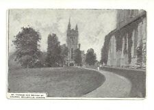 ST. THOMAS AND BRIDGE ST. CHURCH, BELLEVILLE, ONTARIO, CANADA VINTAGE POSTCARD