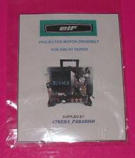 ELF EIKI NT-0 NT-1 NT-2 NT-3 16mm PROJECTOR NOTCHED ORANGE MOTOR DRIVE BELT