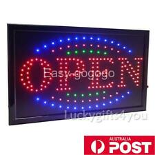 Large Led Open Sign Flashing Size 48x25 CM Business Board Electric For Shop cafe