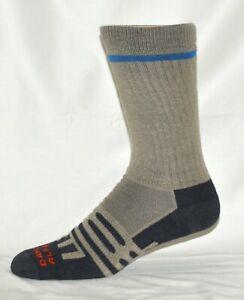 Dahlgren MultiPass Men's Hiking Crew Socks Beige Size XL