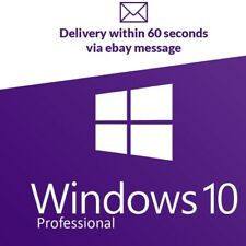 Microsoft Windows 10 Pro Professional  32/64-bit Activation Product Key 24 HOURS