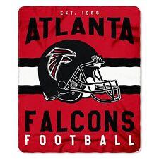"New Northwest NFL Atlanta Falcons Large Soft Fleece Throw Blanket 50"" X 60"""