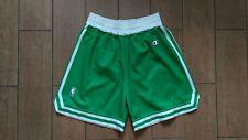 BOSTON CELTICS Shorts Size L basketball Jersey Champion Vintage NBA Shirt Green