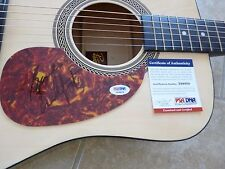 Gordon Lightfoot Music Signed Autographed Acoustic Guitar PSA Certified