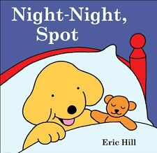 Night Night Spot by Eric Hill  (Hardcover)- bedtime story NEW