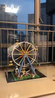 Display case for  Lego Ferris Wheel 10247 Construction( Aus Top Rated Seller)