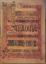Irish Postcard BOOK OF KELLS Breves St Matthew Gospel Balding Mansell U Dublin