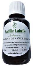 Extrait Naturel de Vanille Bourbon de Madagascar 100 mL, 300g de gousses au kilo