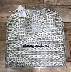 NEW! Tommy Bahama Set Of 4 Seat Indoor Outdoor Cushions - Mildew Water Resistant