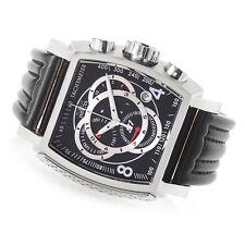 Invicta 20236Men's Tonneau S1 Rally Swiss Quartz Chronograph Leather Strap Watch