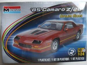 1/24 Monogram 1985 Camaro Z/28 (Dream Rides) #85-4015 Factory Sealed *LAST ONE*