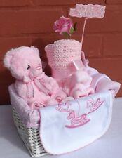 NEW Baby Cesto Regalo Cesto Girl Pannolino Cake Baby Shower bambino cesto regalo Baby
