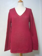 Boden slouchy cotton jumper M GC openweave