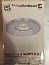 """Commercial Electric 3"""" Recessed Light Kit K37 207170 GU10 50W"""