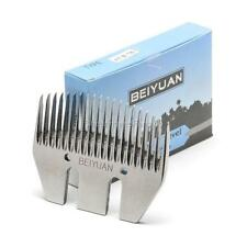 BEIYUAN Goat 20 Tooth Combs Box of 5 Shear Blades Horse Cattle Clipper Handpiece