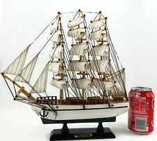"USS Constitution Wood Ship Very Detailed 12"" Handmade"
