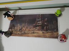 POSTER FALLOUT 4 ART PRINT LOOTCRATE EXCLUSIVE ART BY ILYA NAZAROV!~ 42CM LONG!