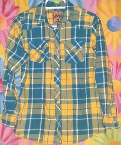 Perfect Gentleman Upcycled flannel shirt size 3T genuine kids by oshkosh