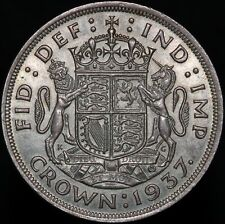 More details for 1937 | george vi crown | silver | coins | km coins