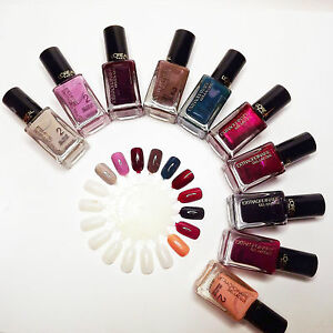 Loreal Paris Extraordinaire Gel-Lacque 1-2-3 Nail Polish 16 Color * PICK ONE *