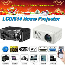 15W Lcd/814 Mini Led Projector Smart Android Wifi Projectors for Home Theater Us