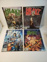 HEAVY METAL Magazine Lot of 4 Issues 1998 2000 2001