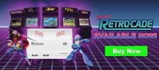 Retro-Bit Super Retro-Cade Plug and Play Console Games Arcade Retro Bit