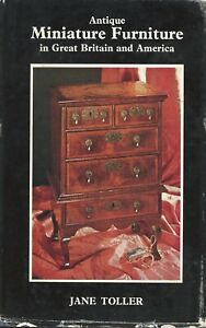 Miniature British American Furniture Salesman Samples Toys Dollhouses / Book