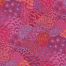 Kaffe Fassett Oriental Trees in Pink & Orange 100% Cotton Fabric PWGP129 - FQ