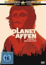 Gesamtbox PLANET DER AFFEN - SAGA Teil 1 2 3 4 5 COMPLETE 5 DVD Box LEGACY